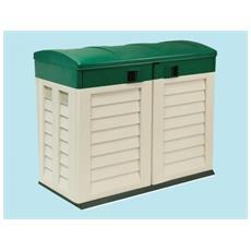 Portattrezzi Container Baule Garden In Resina L146xp87xh119 Arredo Giardino