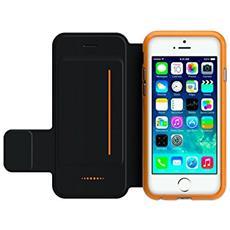 D3o Custodia Tipo Libro Per Iphone 5/5s / 5se / se, Nero