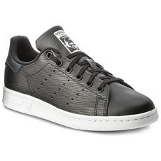 best website a5b1e e814d ADIDAS - Scarpe Sneakers Stan Smith J Originals - Core Black-core  Black-silver Metallic Uk 5.0