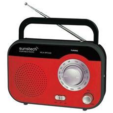 RPS560, Portatile, Analogico, AM, FM, 1-via, AC, Batteria, LR14