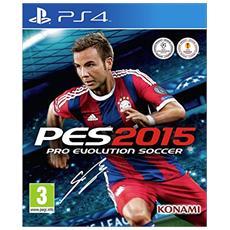 PES 2015, PS4 PlayStation 4 videogioco
