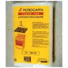 Filtro a Carbone Attivo Clean-Air 100 x 40 cm