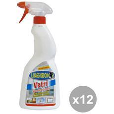 Set 12 Vetri Trigger 750 Ml. Deterge