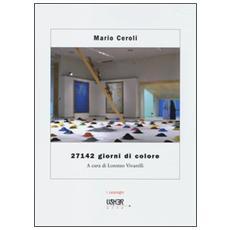 Mario Ceroli. 27142 giorni di colore