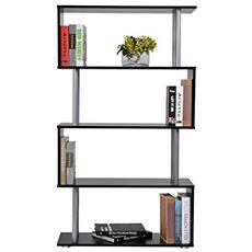 Libreria in legno 80x30x145 cm