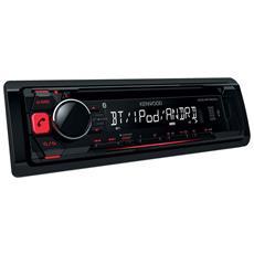 Sintolettore CD KDC-BT500U MP3 / WMA / AAC / WAW / FLAC 4x50W USB / AUX Bluetooth