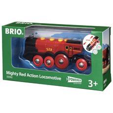 Garnde Locomotiva Rossa a Batteria