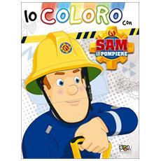 Sam Il Pompiere - Coloring