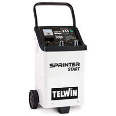Caricabatterie Avviatore 12/24v Telwin Sprinter 4000 Auto Moto Camion Boost