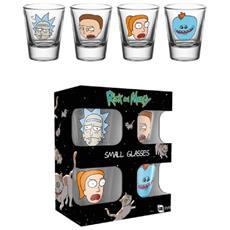 Set Bicchieri Da Shot Ufficiale (4 Bicchieri) (confezione Da 4) (trasparente)