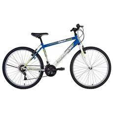 Bici Mountain Bike Integral Uomo Power Blu / Bianco 26'' F. lli Schiano