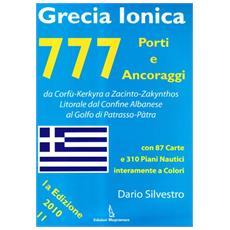 777 porti e ancoraggi. Grecia ionica