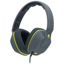 Crusher Cuffie Over-Ear Mic1 Colore Grigio / Giallo