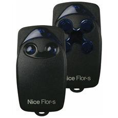 RADIOCOMANDO NICE FLOR-S4 SICE 433,92MHZ 4 Tasti Telecomando Apricancello