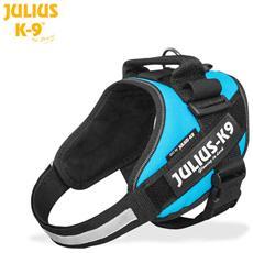 Julius K9 Pettorina Idc Power Harnesses Acquamarina - Tg Baby2