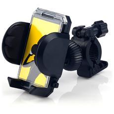 Supporto Per Smartphone Da Bici Massima Tenuta Apert. Max 10,5 Cm