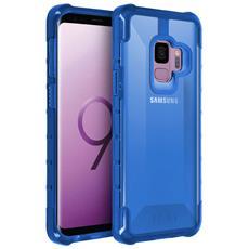 Cover Galaxy S9 Protezione Antishock Uag Serie Plyo - Blu Traslucido