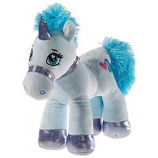 323254 Unicorno Felpato Blu peluche