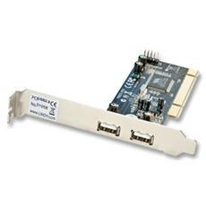 Scheda PCI 2+2 Porte USB 2.0