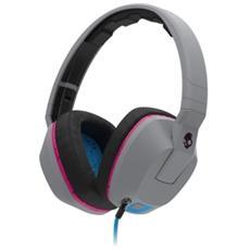 Cuffie Crusher Over-Ear Mic1 Colore Grigio / Rosa
