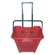 pz. 1 CESTINO-trolley in Plastica BKJTG2406RSS Printex