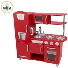 Legno Red Vintage Kitchen 84x34x91 53173