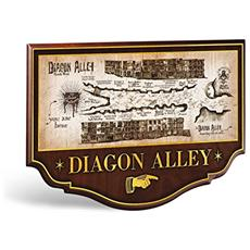 Insegna / Placca Muro Diagon Alley Harry Potter Wall Plaque