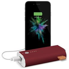 PowerBank da 6000 mAh 1 x USB / Micro-USB Colore Bordò