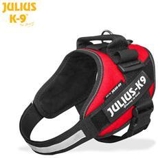 Julius K9 Pettorina Idc Power Harnesses Rossa - Tg Mini