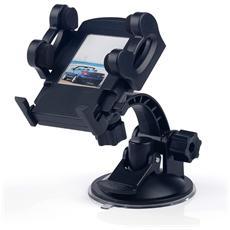 Supporto Da Auto Per Smartphone A Ventosa Massima Tenuta Apert. Max 10,5 Cm