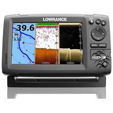 Fishfinder Chartplotter Hook 7 Chirp Con Tecnologia Downscan Imaging Art. 000-12663-001