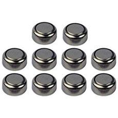 Set 10 Batteria Batterie Pile A Bottone Ag3 392a Lr41 Lr736 392a Sr736 Sg3 Alkaline 1.55v Orologi Calcolatrici Giocattoli