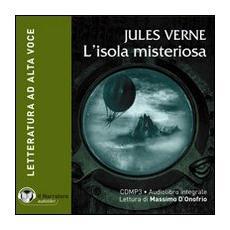 L'isola misteriosa. Audiolibro. CD Audio formato MP3. Con e-text. Ediz. integrale