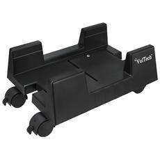 Carrello Porta PC 4 Ruote in plastica colore Nero