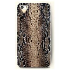 Cover Custodia Iphone4/4s Serpent Skin Trama Pelle Di Serpente
