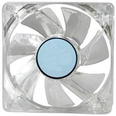 Ventola Di Raffreddamento Per Case 8x8x2cm Trasparente Plexiglass Molex 4pin
