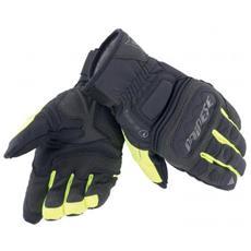 Clutch Evo Gloves Nero - Giallo Fluo Guanti Moto Taglia Xxl