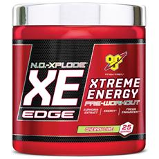 N. o. -xplode Xe Edge 25 Servings - Bsn - Pre-allenamento Con Caffeina - Blue Raz