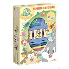Baby Looney Tunes - Timbrastorie (Album+Timbri+Pennarelli)