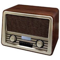 Radio con Sveglie Marrone 6 V 30 x 20 x 18 cm NR920