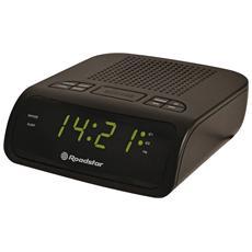 Radiosveglia digitale FM PLL con doppio allarme CLR2530 Roadstar