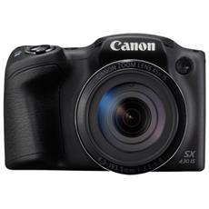 """Fotocamera Compatta PowerShot SX430 IS 20 Mpx Zoom Ottico 45x Display 3"""" Filmati HD USB 2.0"""