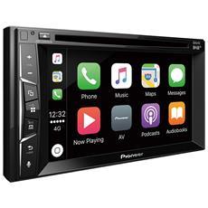 Lettore multimediale 2 DIN Apple CarPlay, DAB / DAB+, Waze