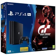 SONY - Console Playstation 4 Pro 4K e HDR 1 Tb + Gran...