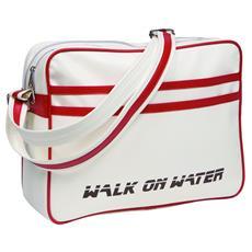 """Boarding Bag 15 H 15"""" Borsa da corriere Rosso, Bianco"""