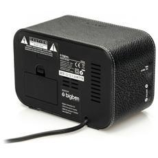 Interactive RR30 – Leather, Orologio, LCD, Digitale, AM, FM, AC, Batteria, 87,5 - 108 MHz