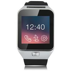 "Smartwatch X-Watch X29W Display 0.95"" Bluetooth con Cellulare e Contapassi Nero / Argento - Europa"