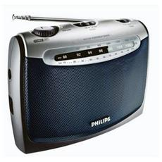 Radio Portatile Colore Grigio
