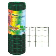 Rete zincata elettrosaldata rivestita in PVC per recinzione 2,03 x 25 m