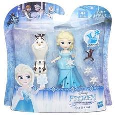 Frozen Small Doll Elsa E Olaf